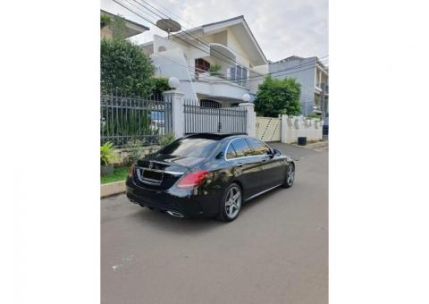 Mercy C250 AMG 2016 Black Full Option