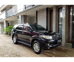 Fortuner G 2.5 VNT Matic Th 2013