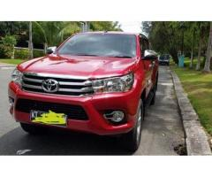 Toyota Hilux G double cabin 2019