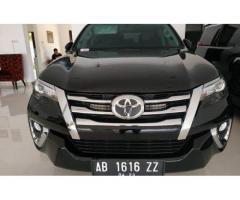 Toyota Fortuner VRZ 2018