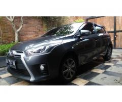 Toyota Yaris G AT 2014 Antik Low KM