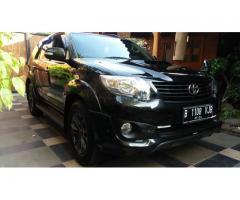 Toyota Fortuner TRD AT 2014 Terima Atas Nama Pembeli