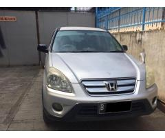 Honda CRV 2.0 MANUAL thn 2005 warna silver Ors