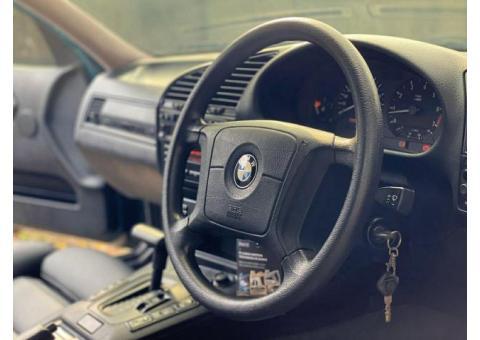 BMW E36 323i M52B25 Automatic Boston Green 1997