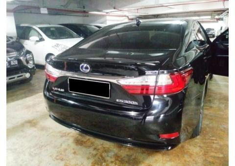 Lexus ES300h Th 2017 Black Km23rb