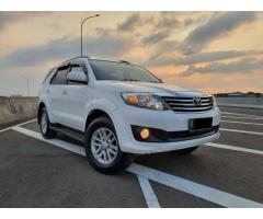 Fortuner 2.7 G-Lux 2013 at, KM 90rb, service record, tgn 1, OTR 205 Jt