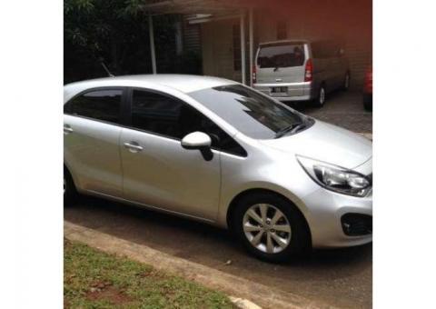 Dijual mobil All New Kia Rio 2012 terawat siap pakai