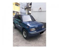 Suzuki sidekick drag-1 1.6 th 1999 biru met ful ori antik