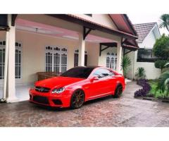 Mercy CLK 240 W209 Th 2003 Red Full Modif Low Km