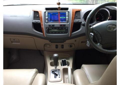 Toyota Fortuner 2.7 G bensin matic th 2009 warna Hitam Ors