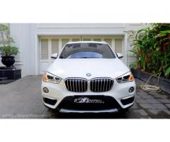 BMW X1 Allnew xLine Panoramic NIK 2017 Like new baru 16ribu RECORD