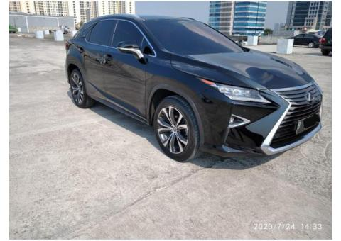 Lexus Rx300 Luxury 2018 ATPM  2018 BLack on Saddle Brown Hrg 1.050.000.000,-