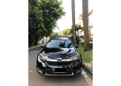 Honda CRV Prestige matic 1.5 turbo th 2017 pemakaian 2018 hitam metalik