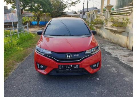 Honda Jazz Rs Mt 2014 Merah