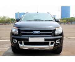 Ford Ranger Wild Track 4x4 AT Hitam 2014