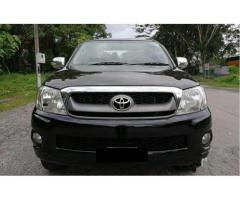 Bekas Toyota Hilux G 2011